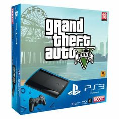 Sony PlayStation 3 500GB Super Slim Console: Amazon.co.uk: PC & Video Games