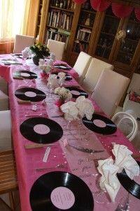 Décoration De Table Que Ma Mère A Réalisé Pour Les 60 Ans De Mariage