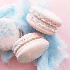 """cotton candy #macarons  today at #jennaraecakes #winnipegbakery open 12-6"""