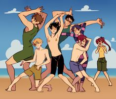 Beach meme ...  From Fira ...  Free! - Iwatobi Swim Club, haruka nanase, haru nanase, haru, haruka, free!, iwatobi, makoto tachibana, makoto, tachibana, nanase, sousuke, sousuke yamazaki, yamazaki, matsuoka, rin, rin matsuoka, rei ryugazaki, rei, ryugazaki, nagisa hazuki, hazuki, nagisa, gou, gou matsuoka