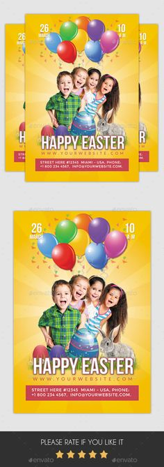 Fashion For Kids Flyer Template Flyer Template Template And Promotion