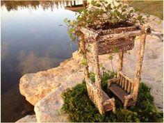 Fairy Garden Supplies. Fairy Garden Miniature Birch Arbor Planter. $24.99