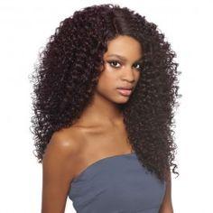 Outre Lace Front Wig Batik Bundle Hair DOMINICAN CURLY