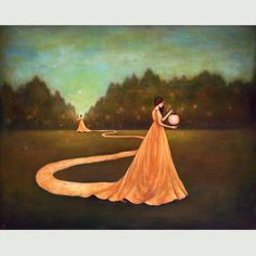 Charlotte, NC based artist, Duy Huynh creates poetic and contemplative acrylic paintings.