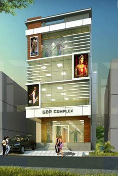 Medium to large size of designs architecture in plaza design shop front commercial building and floor Design Plaza, Mall Design, Showroom Design, Shop Front Design, Shop Interior Design, House Design, Building Elevation, House Elevation, Building Exterior