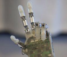 Desarrollan una mano biónica que permite recuperar el sentido del tacto  Ciencia Pura 3574fbaeb3f6