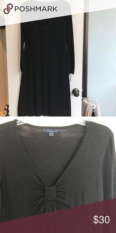 Long sleeve sweater dress Sweater knit dress 100% viscose. Sweetheart neck Boden Dresses Midi