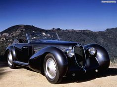 Alfa Romeo 8C 2900 by Vittorio Jano