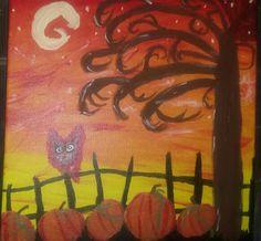 Pumpkin patch for Halloween