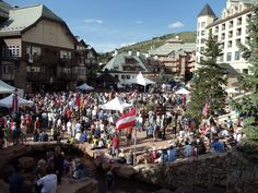 Beaver Creek Oktoberfest is #LaborDay Weekend, August 31st-September 1st | MountainHop.com #Vail