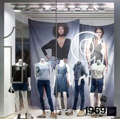 Soft muslin drapes for GAP spring 2011 campaign made by DTX Graphics www.dtxgraphics.com