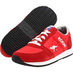 fbfff9b88c27a6 Kangaroos Combat Red   Silver   White Pretty Shoes