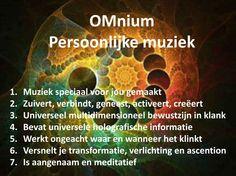 Website met persoonlijke muziek om oa te mediteren, contact met de Bron maken,...