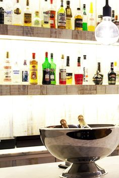 Sip a pre- or post-dinner cocktail in the hip bar. Internacional Design Hotel (Lisbon, Portugal) - Jetsetter