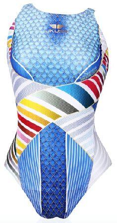 Jkuss Girls SL-03W Water Polo Suits, Synchronized Swimming, Bean Bag Chair, Colours, Girls, Swimwear, How To Wear, Women, Women's