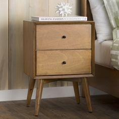 You'll love the Parocela 2 Drawer Nightstand at Wayfair - Great Deals on all Furniture products with Free Shipping on most stuff, even the big stuff.