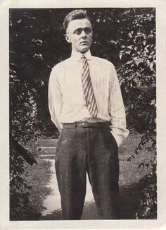 1910s fashion men | Edwardian Men's Fashion- Man in Stripes- 1910s Vintage Photograph
