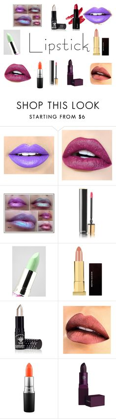 """""""metallics"""" by margaret-ann-robinson on Polyvore featuring beauty, Fiebiger, Chanel, Lime Crime, Kevyn Aucoin, Manic Panic NYC, MAC Cosmetics, Lipstick Queen and summerlipstick"""
