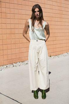 Ilana Kohn - Cream Boyd Pants   BONA DRAG
