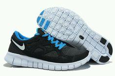 brand new 6d3e8 98351 Mens Nike Free Runs 2 Woven Liberty Black Sport Red Shoes