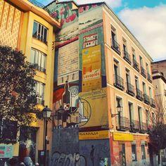 Barrio de Lavapiés in Madrid, Madrid