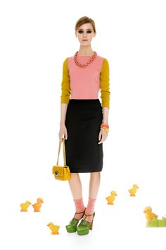 Moschino Cheap And Chic Pre-Fall 2012