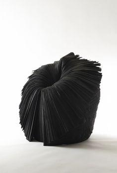 Nendo . cabbage chair black, 2008