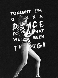 but i don't wanna dance if i'm not dancing with you.