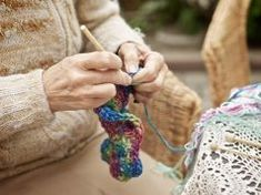 Picture of This Caucasian woman is spinning wool on a spinning wheel into homespun crafted yarn as an artisan in action. stock photo, images and stock photography. Crochet Tote, Knit Or Crochet, Artisan & Artist, Ripple Afghan, Spinning Wool, Popular Crafts, All Free Crochet, Knitting Magazine, Julia Roberts