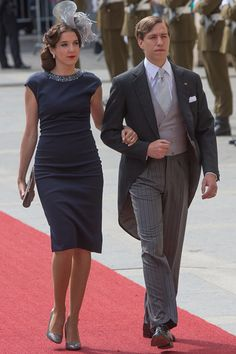 Princess Tessy and Prince Louis of Luxembourg assist National Day on June 23, 2015 in Luxembourg, Luxembourg