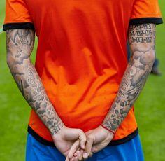 Cloud Tattoo Sleeve, Half Sleeve Tattoos Forearm, Fake Tattoo Sleeves, Inner Bicep Tattoo, Forarm Tattoos, Full Sleeve Tattoos, Tattoo Sleeve Designs, Arm Tattoos For Guys, Great Tattoos