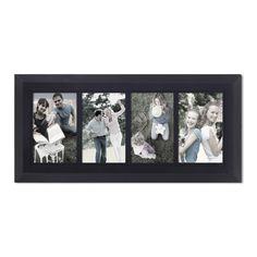 "Adeco 4-Opening Collage Picture Frame, 4x6"" PF0541 #AdecoHomeGoods #CollagePictureFrame"