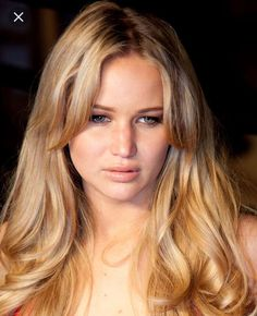 long hairstyles with layers Jennifer Lawrence Haircuts For Long Hair With Layers, Long Hair With Bangs, Long Curly Hair, Hairstyles With Bangs, Curly Hair Styles, Long Haircuts, Blonde Hairstyles, Latest Hairstyles, Straight Hairstyles