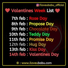 valentinesday images A Celebration Of Valentines Week List 2020 Start Feb On Rose Day, Propose Day, Chocolate Day, Teddy Day, Kiss day amp; Beautiful End with Valentines day. New Year Wishes Quotes, Happy New Year Quotes, Quotes About New Year, Valentine's Day Quotes, Good Life Quotes, Funny Quotes, Promise Day Images, Kiss Day Images, Happy Promise Day