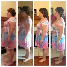 #HCG success story... Photos range from day 1 to day 40.. -35 lbs & -42 inches