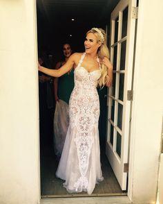Lana Is All Smiles In Her Wedding Dress  #Lana #WWE #WomenOfWrestling