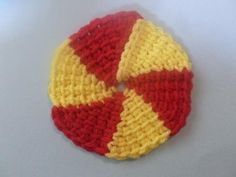 How to make a circle in tunisian crochet