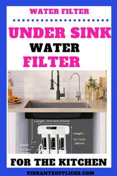 Best under sink water filter 2020 (Best under counter water filter) - Vibrant suppliers