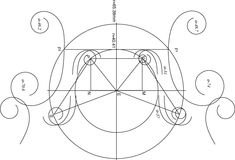 The #Geometry MATH of a violin body, Pin 2. Geometric