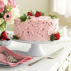 Strawberry-Lemonade Layer Cake | MyRecipes.com
