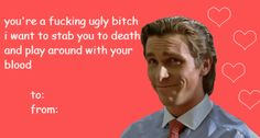 I love this valentine, hahaha.