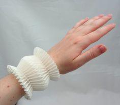MARIKO KUSUMOTO ORIGAMI, BRACELET  polyester, thread