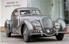 1938 Bentley 4.25 Ltr Coupe Embiricos by Pourtout