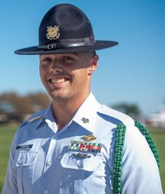 Although Coast Guard Petty Officer 1st Class Cody Roberts had only been a company commander for a little over a year at Training Center Cape May, it was no surprise that he was selected as company commander of the quarter so soon. Lead By Example, Cape May, Training Center, Coast Guard, The Selection, Captain Hat
