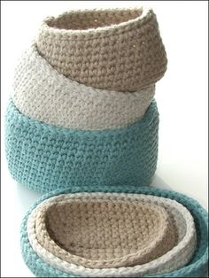 Oval Cotton Storage Bins