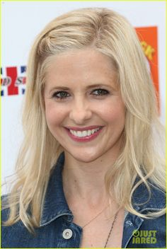 Sarah Michelle Gellar arrives at the Kidstock Music and Arts Festival.