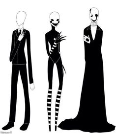 The only way to be popular is to have some creepy black-and-white thing