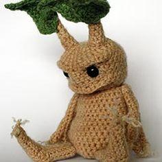 Mandrake amigurumi crochet pattern by Maffers Toys