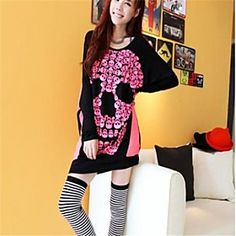 Women's Fashion Loose Long Sleeve T-Shirt