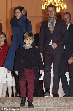 Danish Crown Prince Family attended the Christmas Concert at Esajas Church